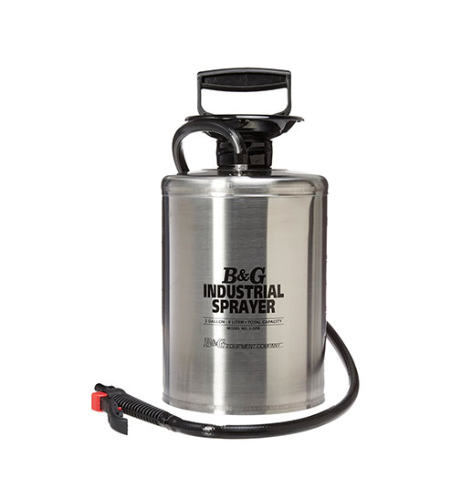 Stainless Steel Industrial Sprayer, 2 gals